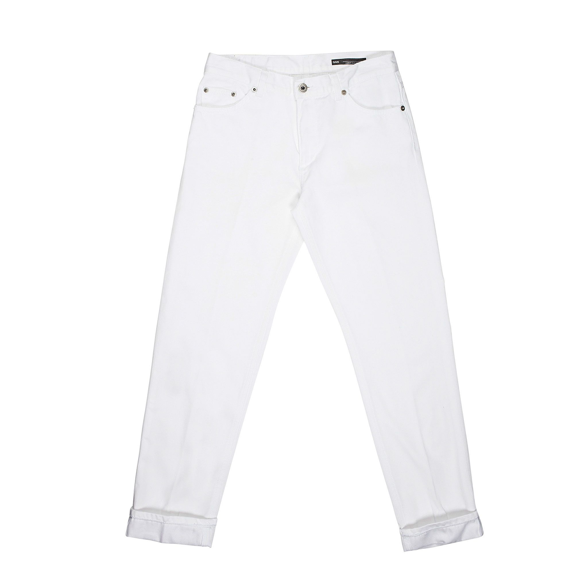 Dondup  Trousers In White