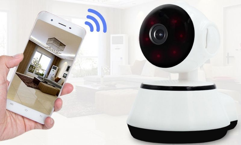 Aquarius 360° HD Indoor Wireless Smart Home Camera