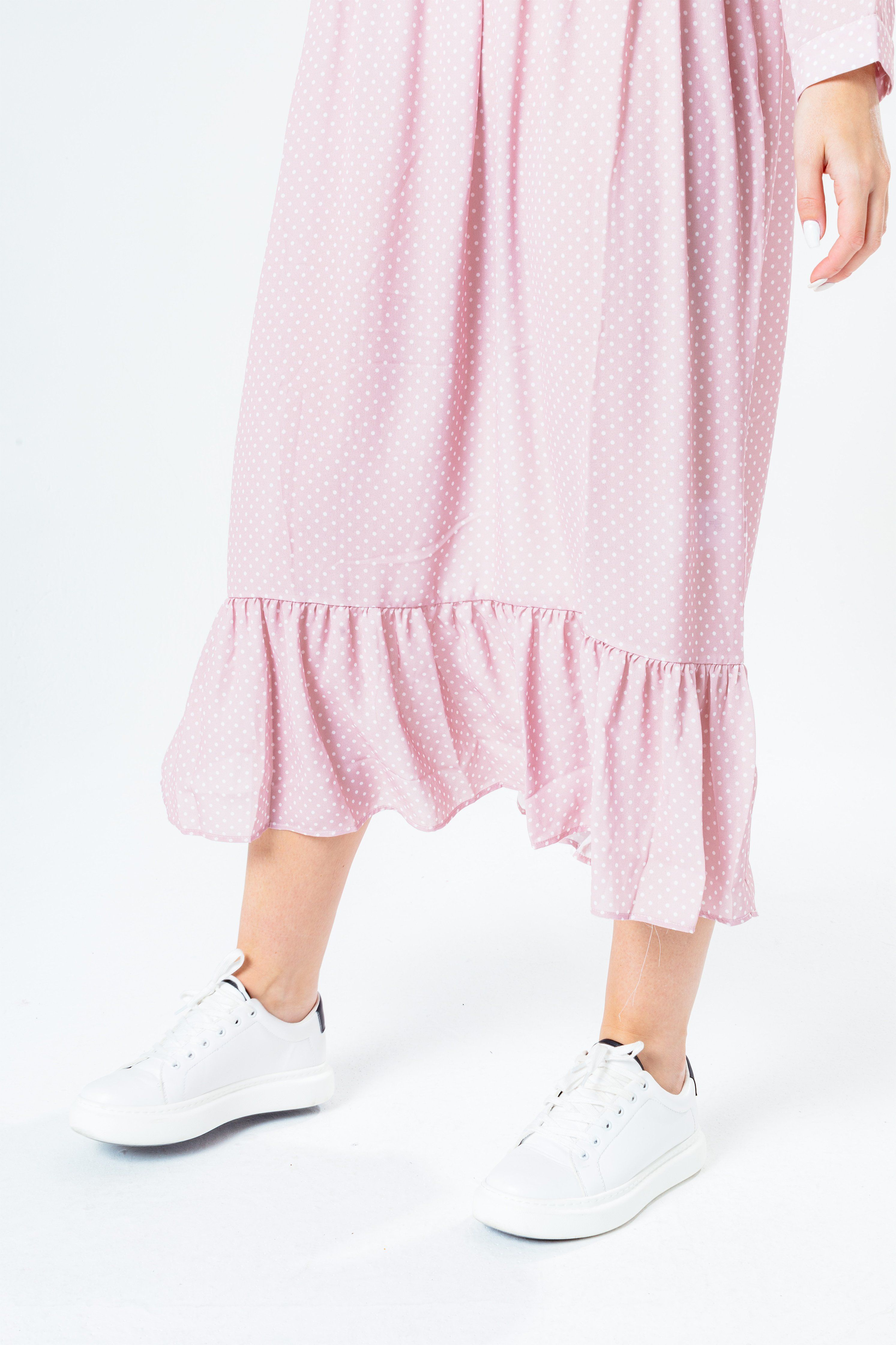 Hype Pink Polka Women's Dot Dress