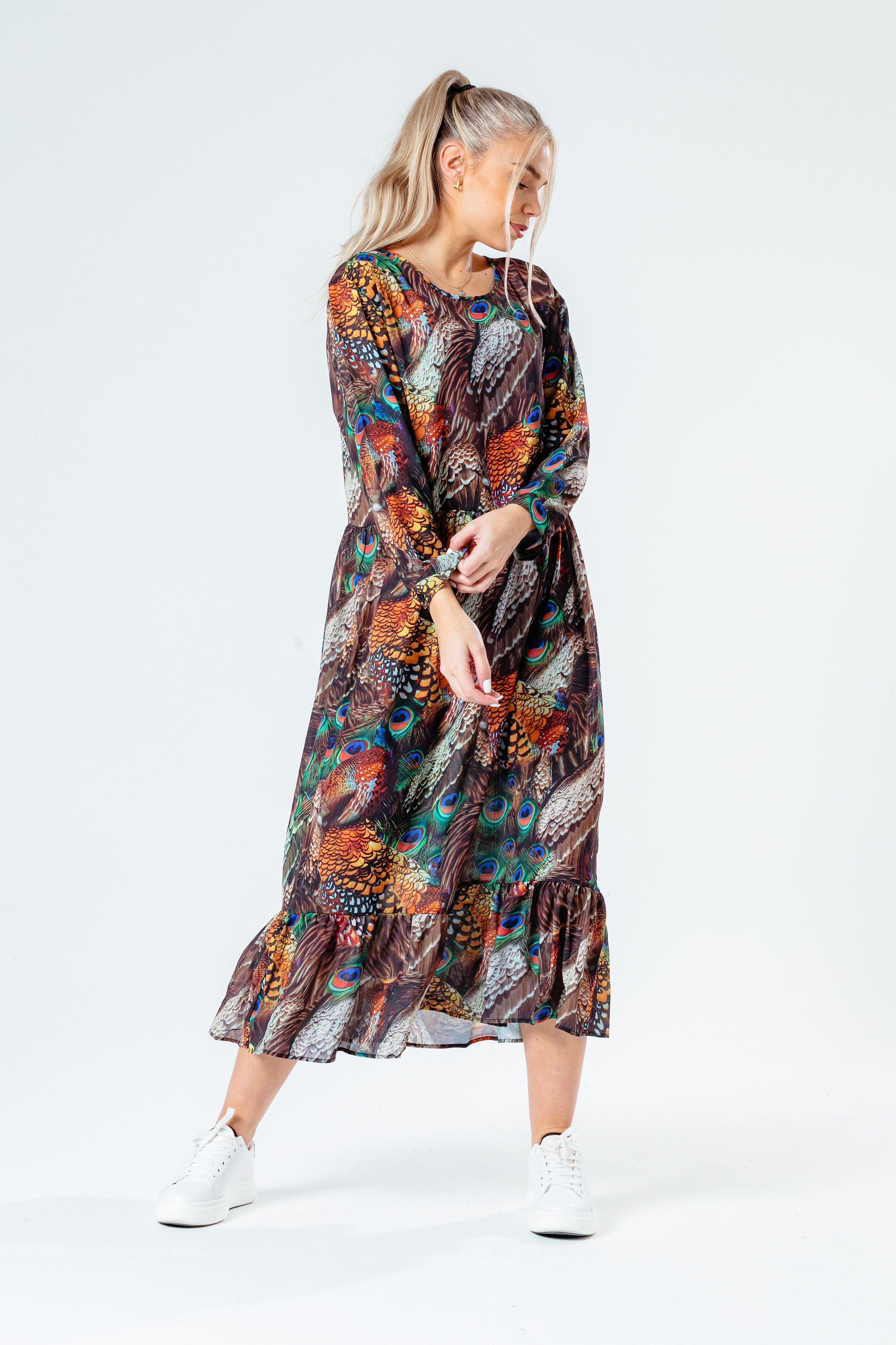 HYPE FEATHERS WOMEN'S DRESS