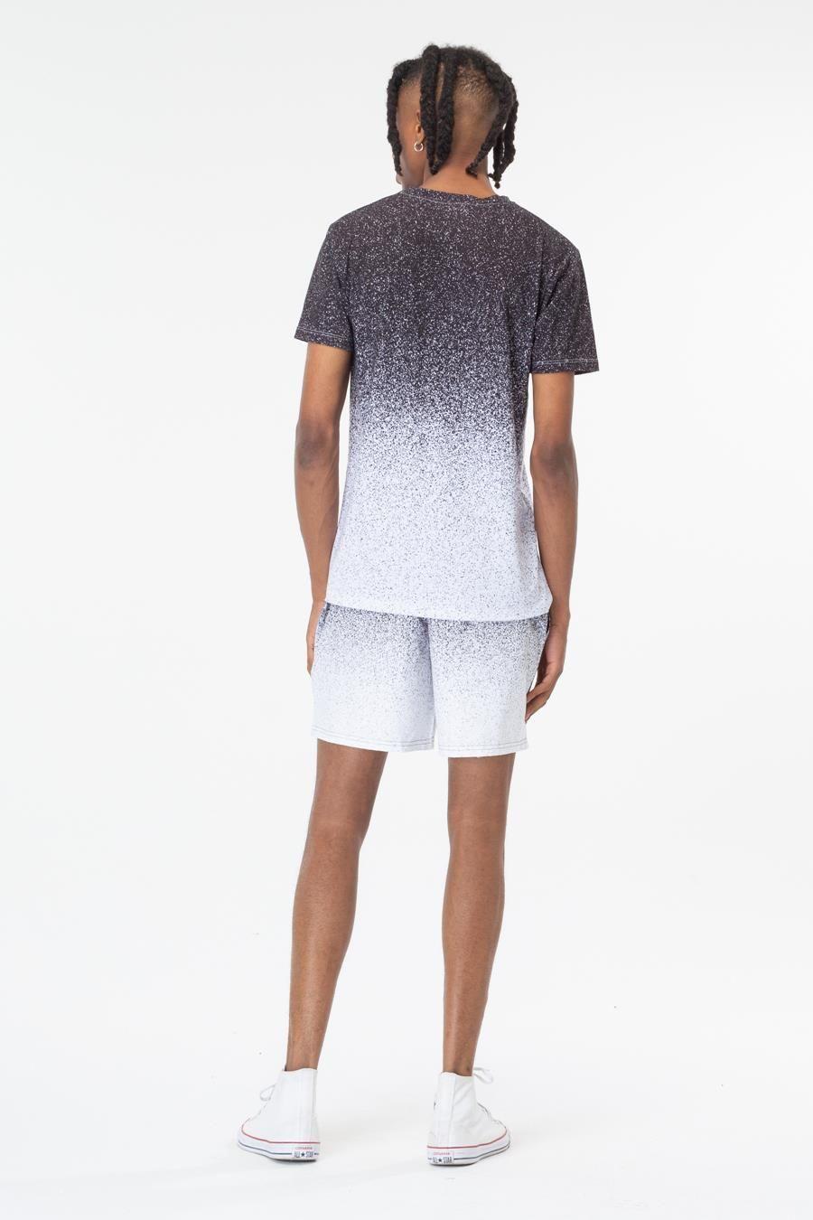 Hype Black Speckle Fade Mens T-Shirt