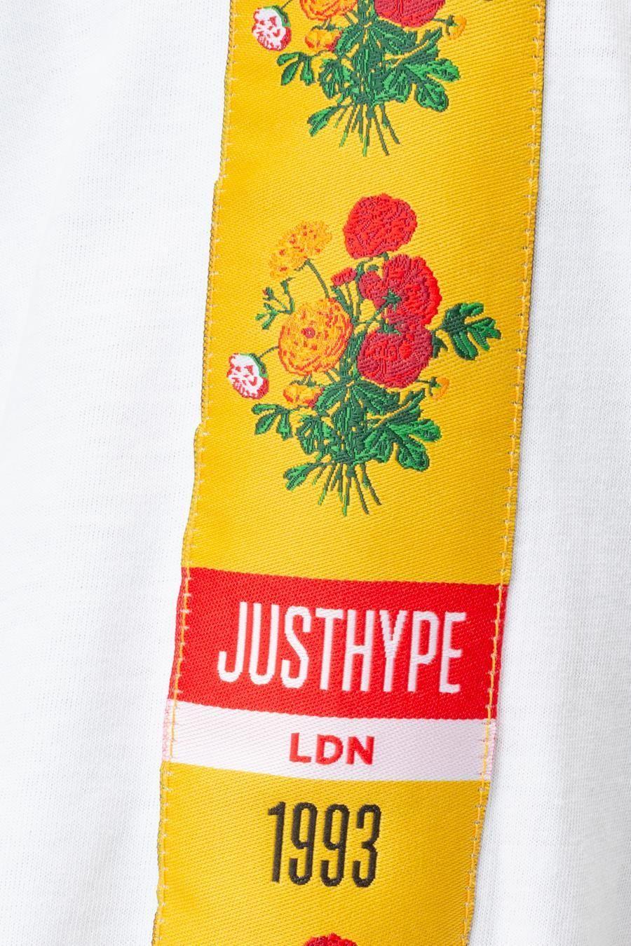 Hype Floral 93 Mens L/S T-Shirt