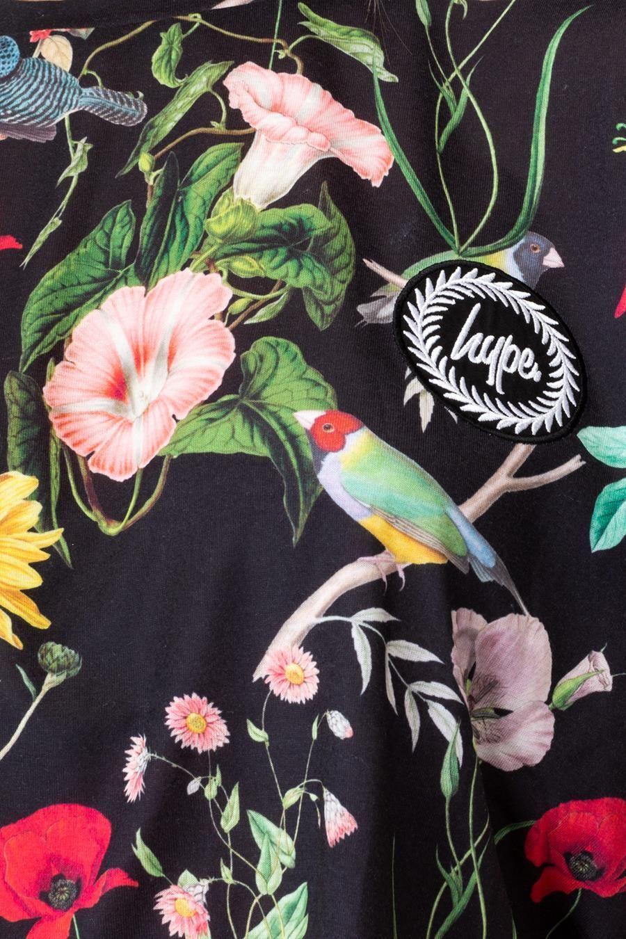 Hype Regal Bird Womens Crop T-Shirt