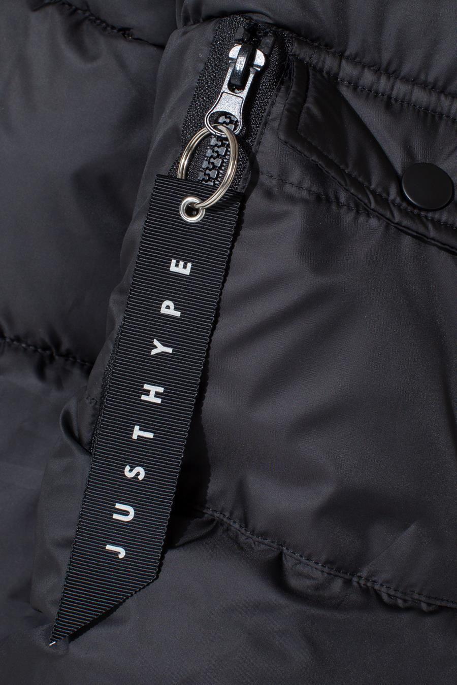 Hype Black Explorer Kids Jacket