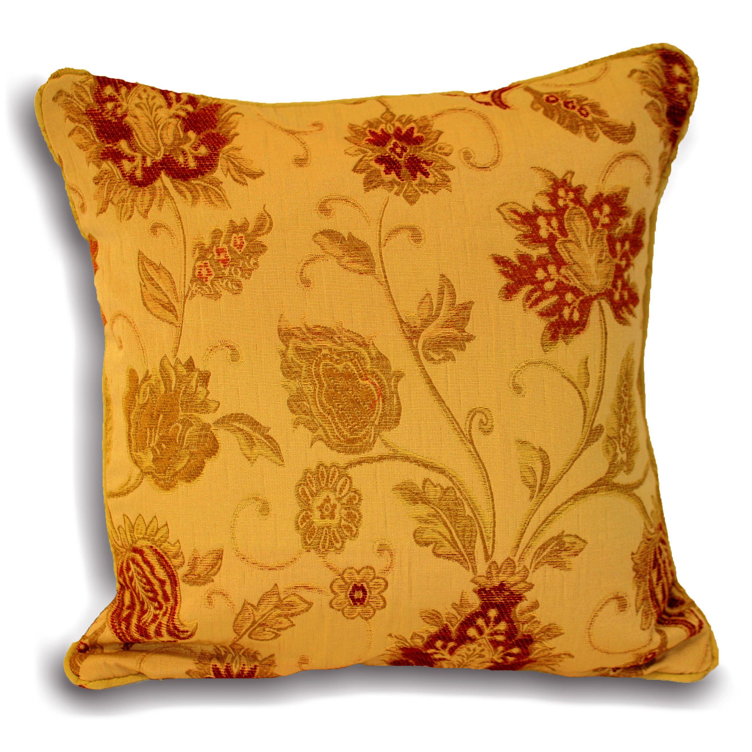 Zurich Poly Cushion 55X55 Gold