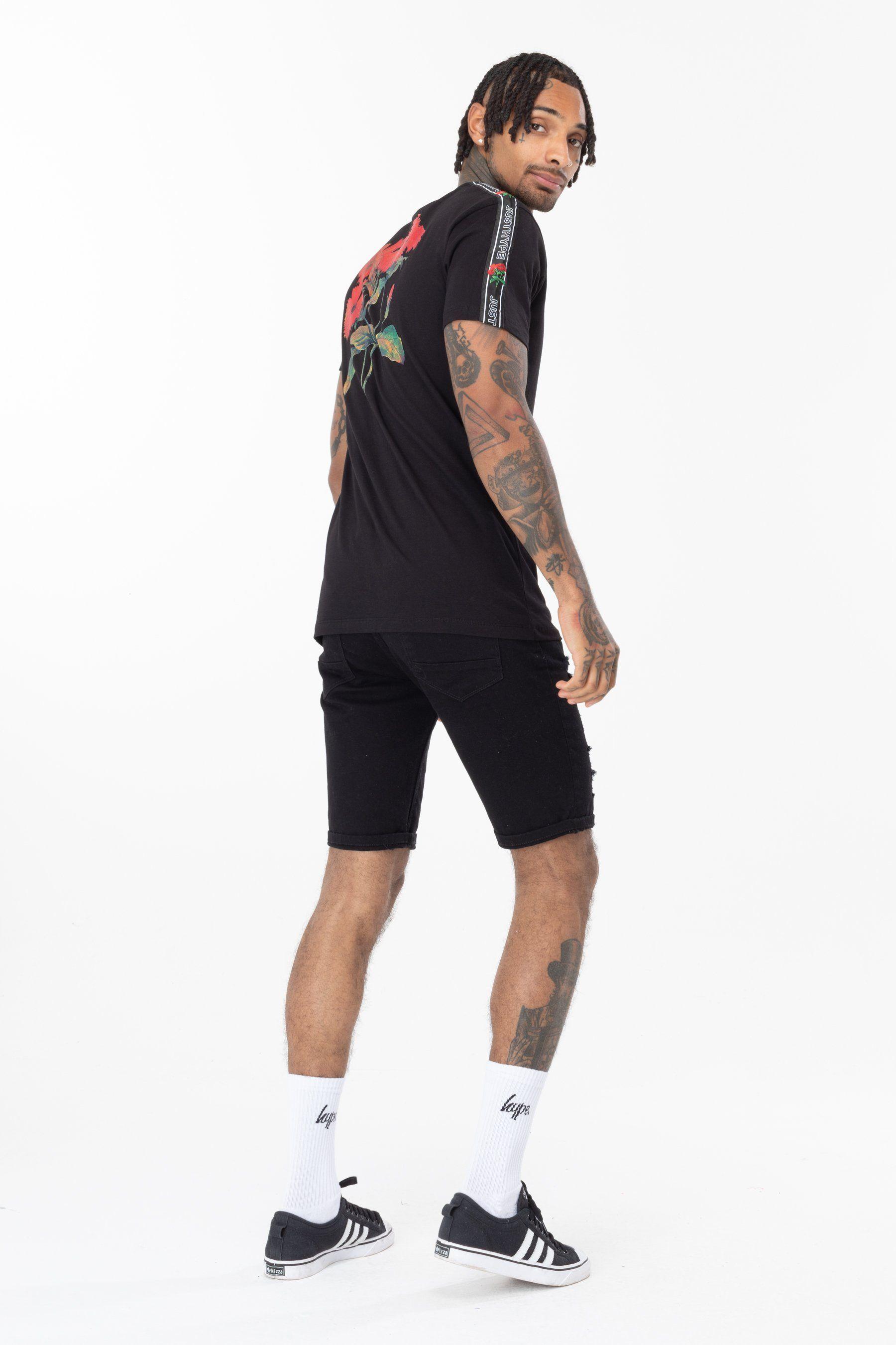 Hype Venom Floral Mens T-Shirt Xl