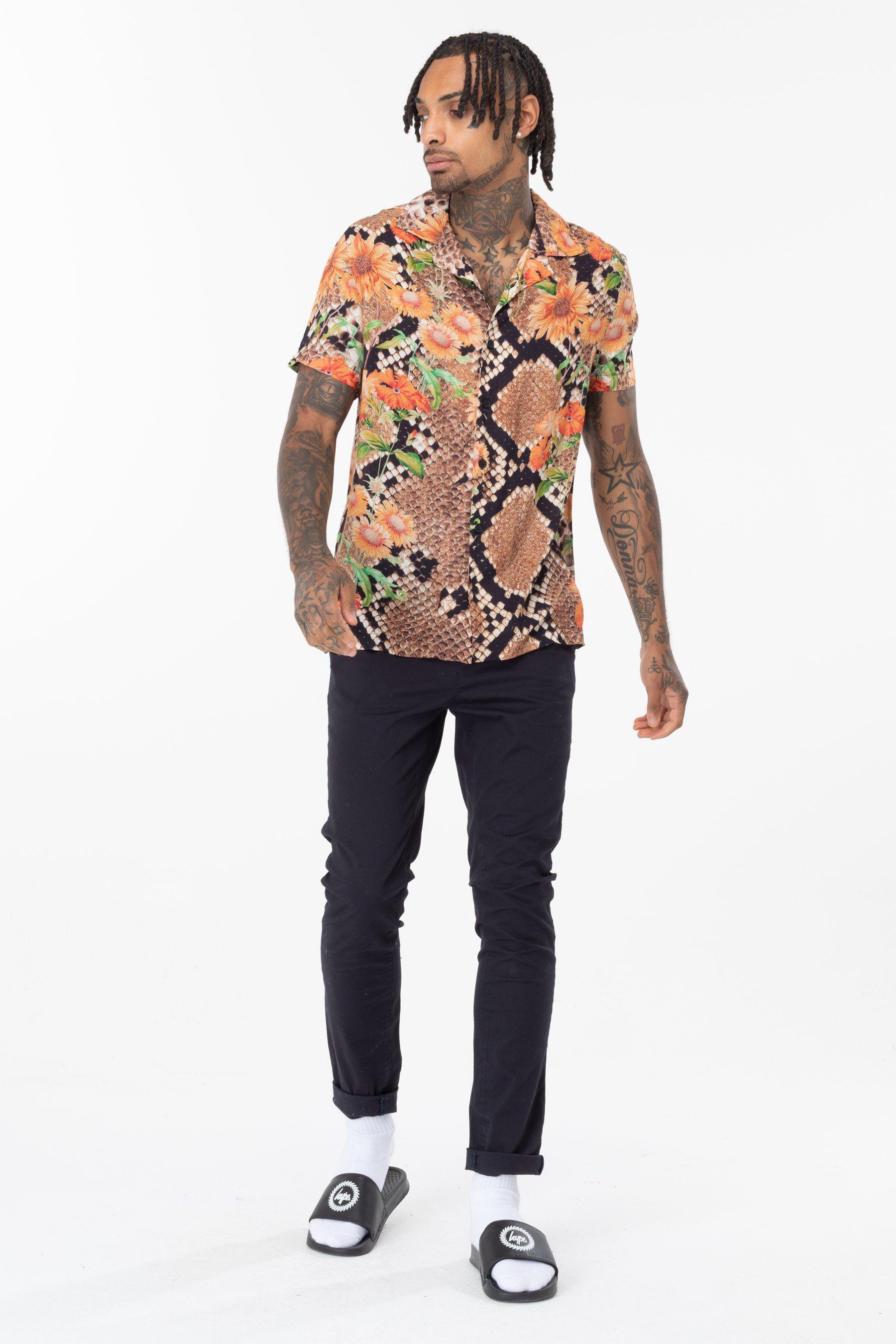 Hype Floral Hiss Mens Shirt