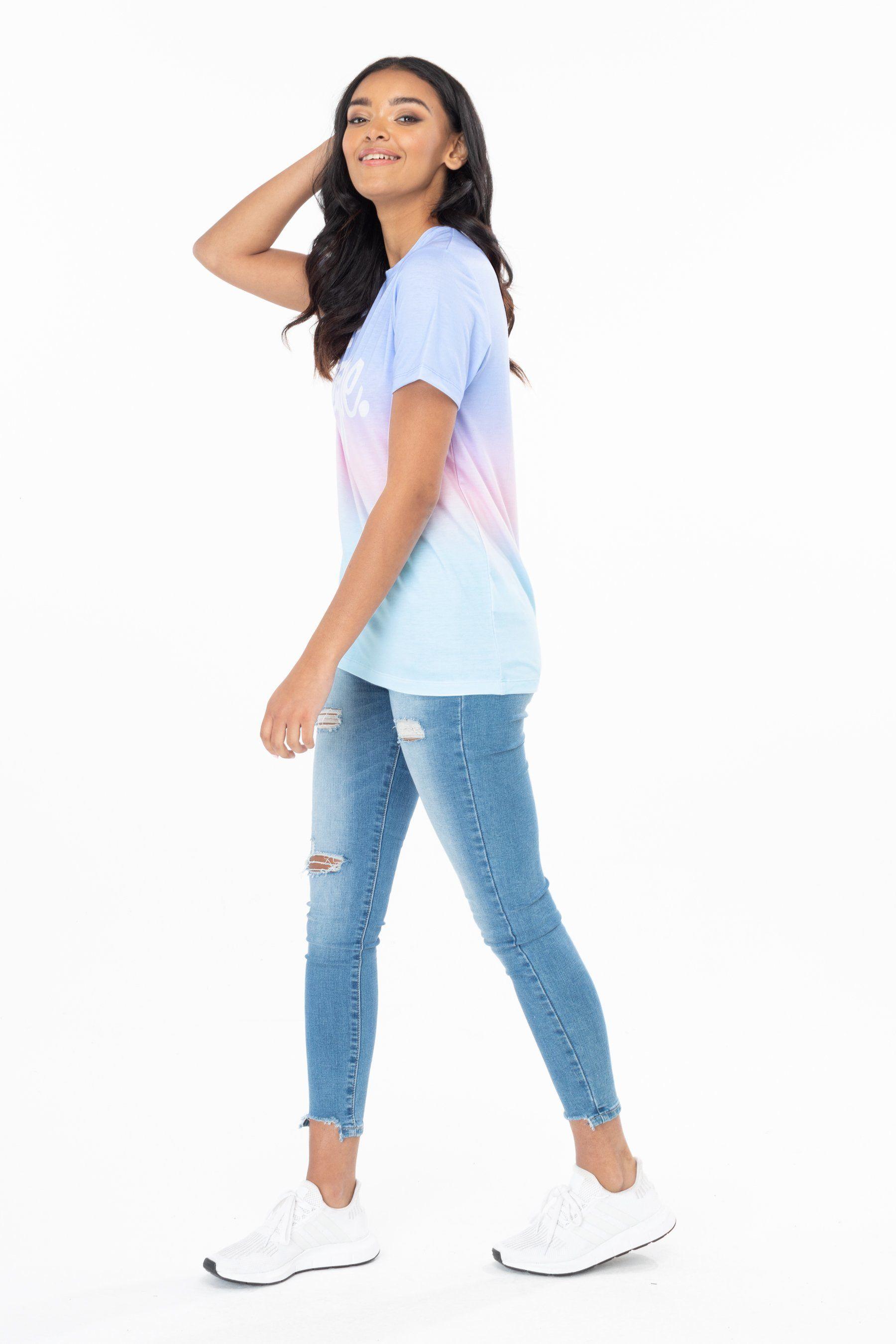 Hype Fairground Fade Womens T-Shirt 8