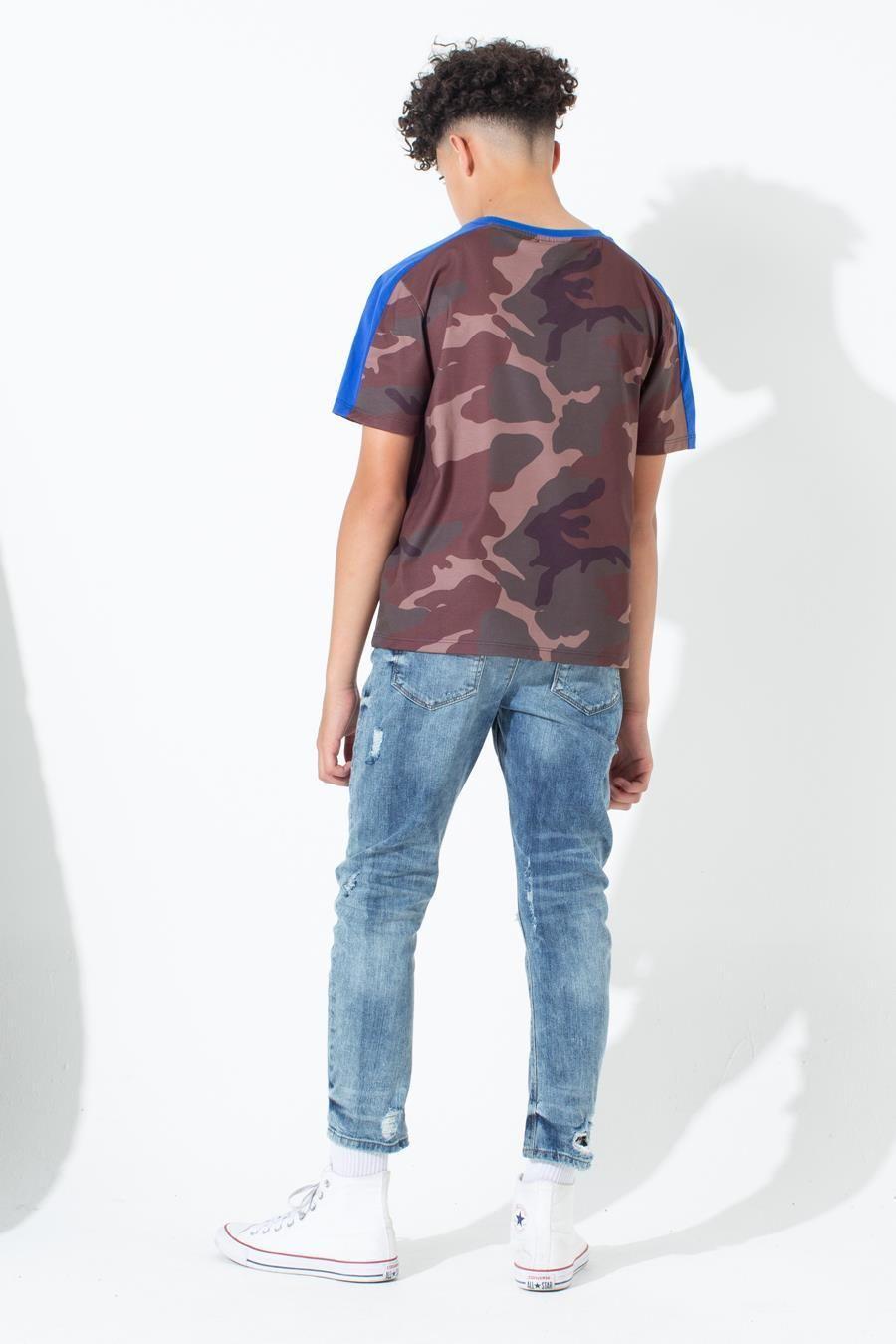 Hype Northern Camo Kids T-Shirt