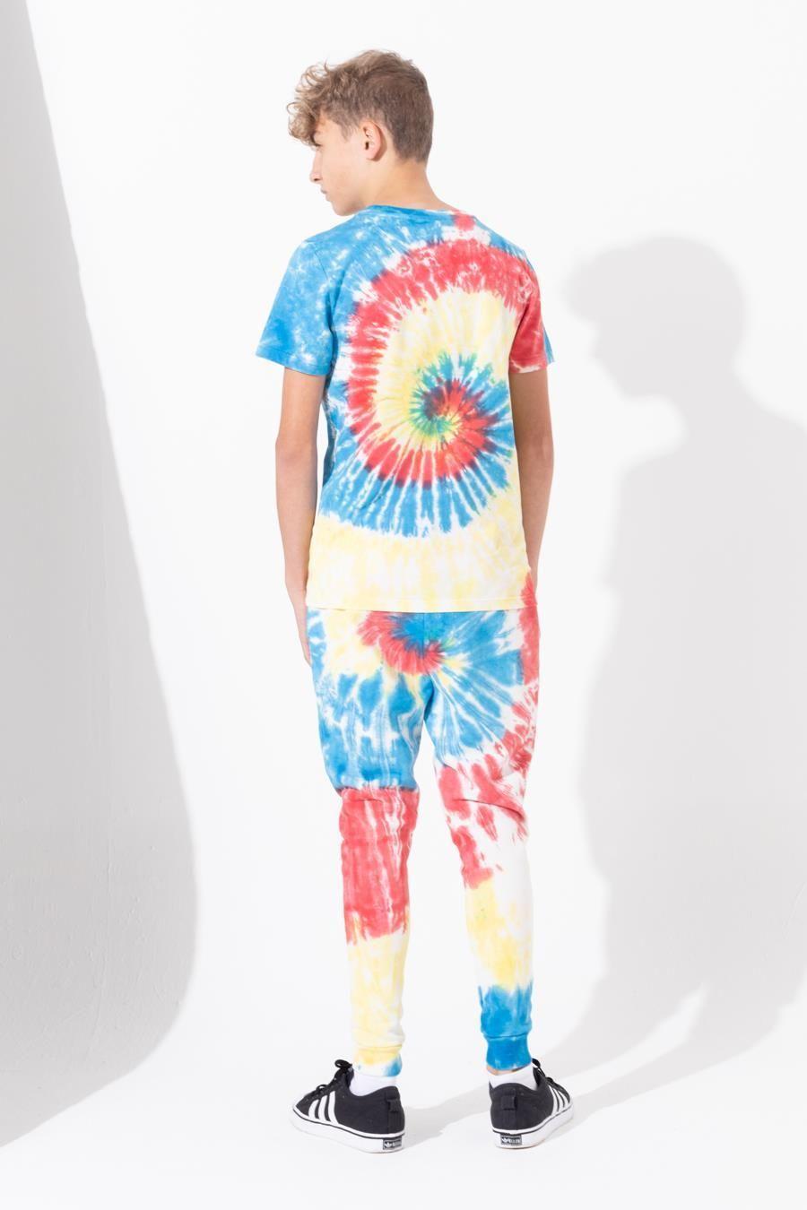 Hype Tie Dye Kids Joggers 13Y