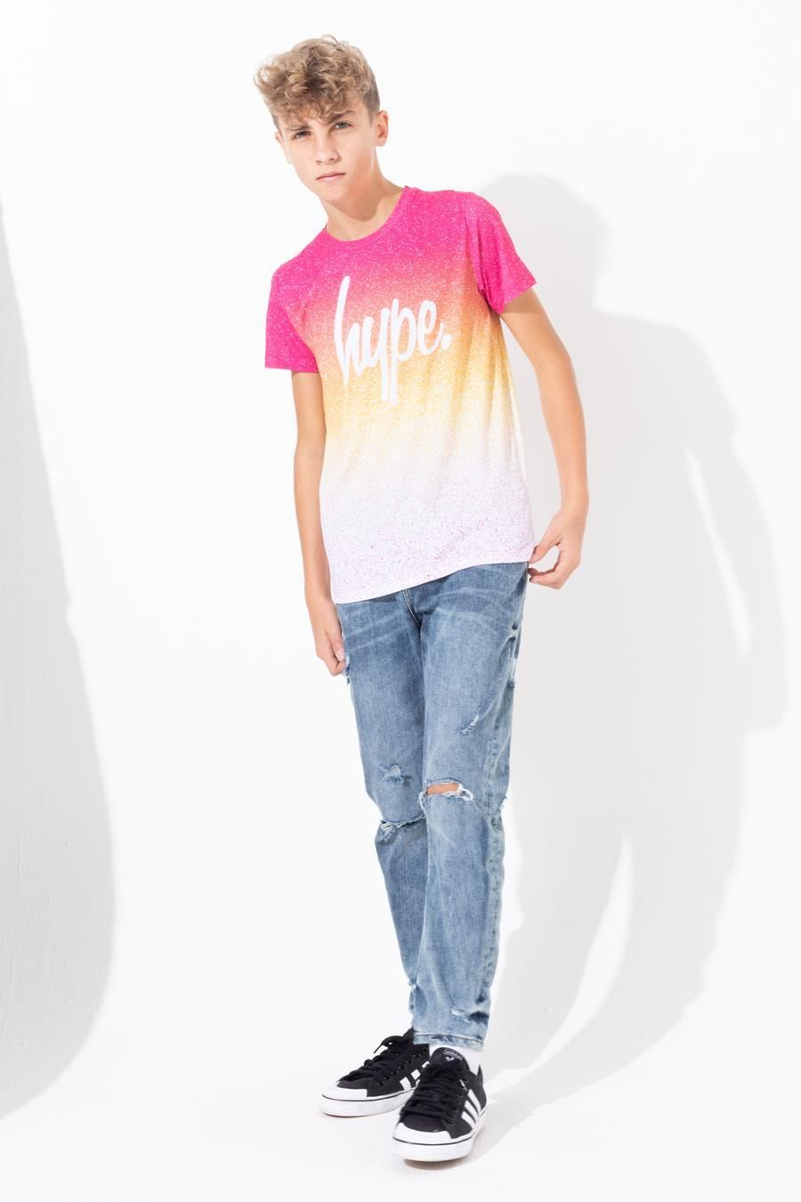 Hype Ibiza Speckle Fade Kids T-Shirt