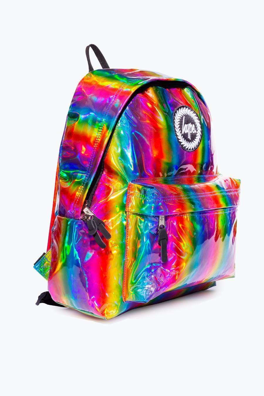 Rainbow Holo Backpack