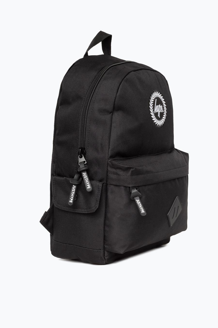Hype Black Midi Backpack