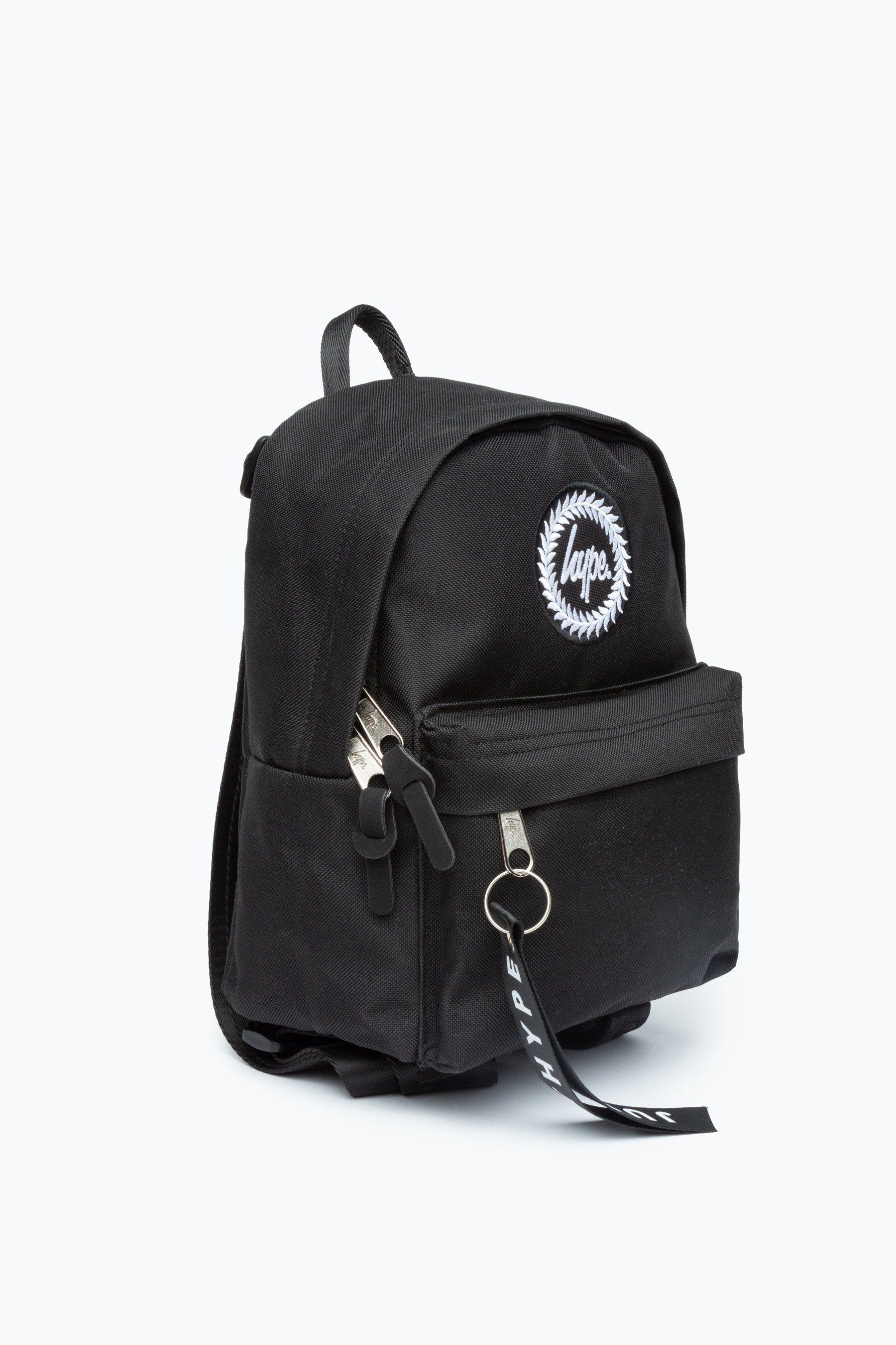Hype Black Mini Backpack