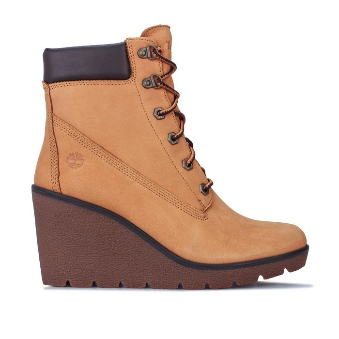 Women's Timberland Paris Height 6 Inch Boots in Wheat