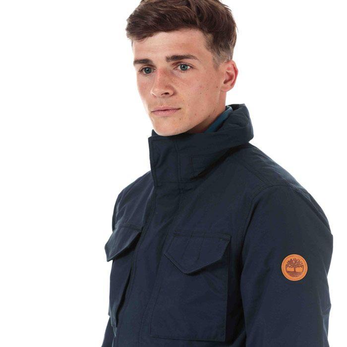 Men's Timberland 3 in 1 M65 Jacket in Navy