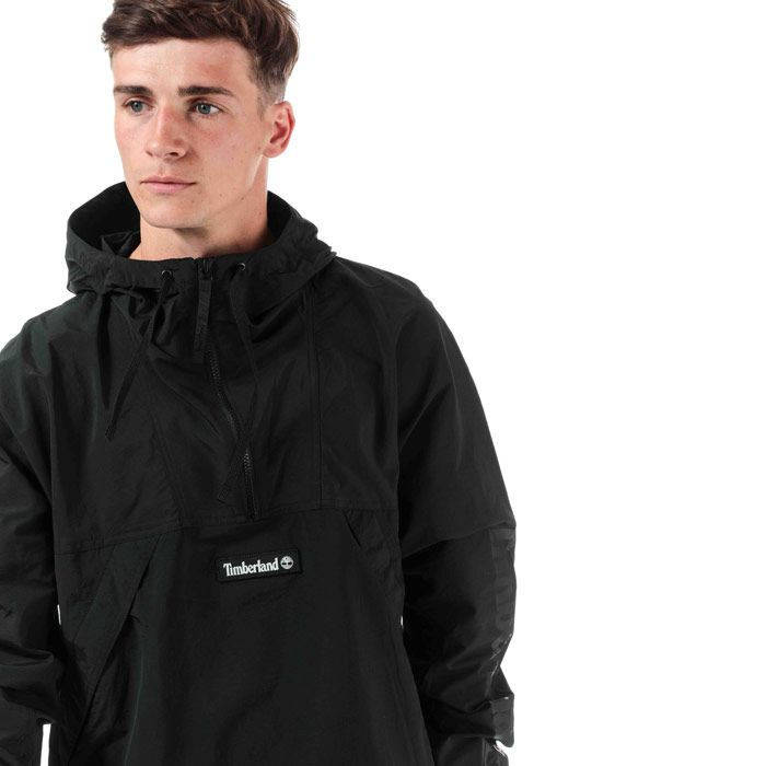 Men's Timberland YC Trial Pullover Jacket in Black