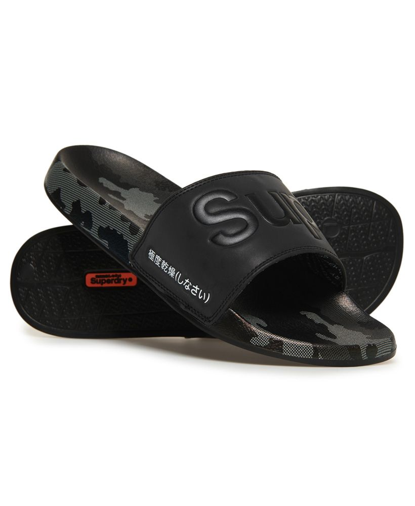 Superdry All Over Print Beach Sliders