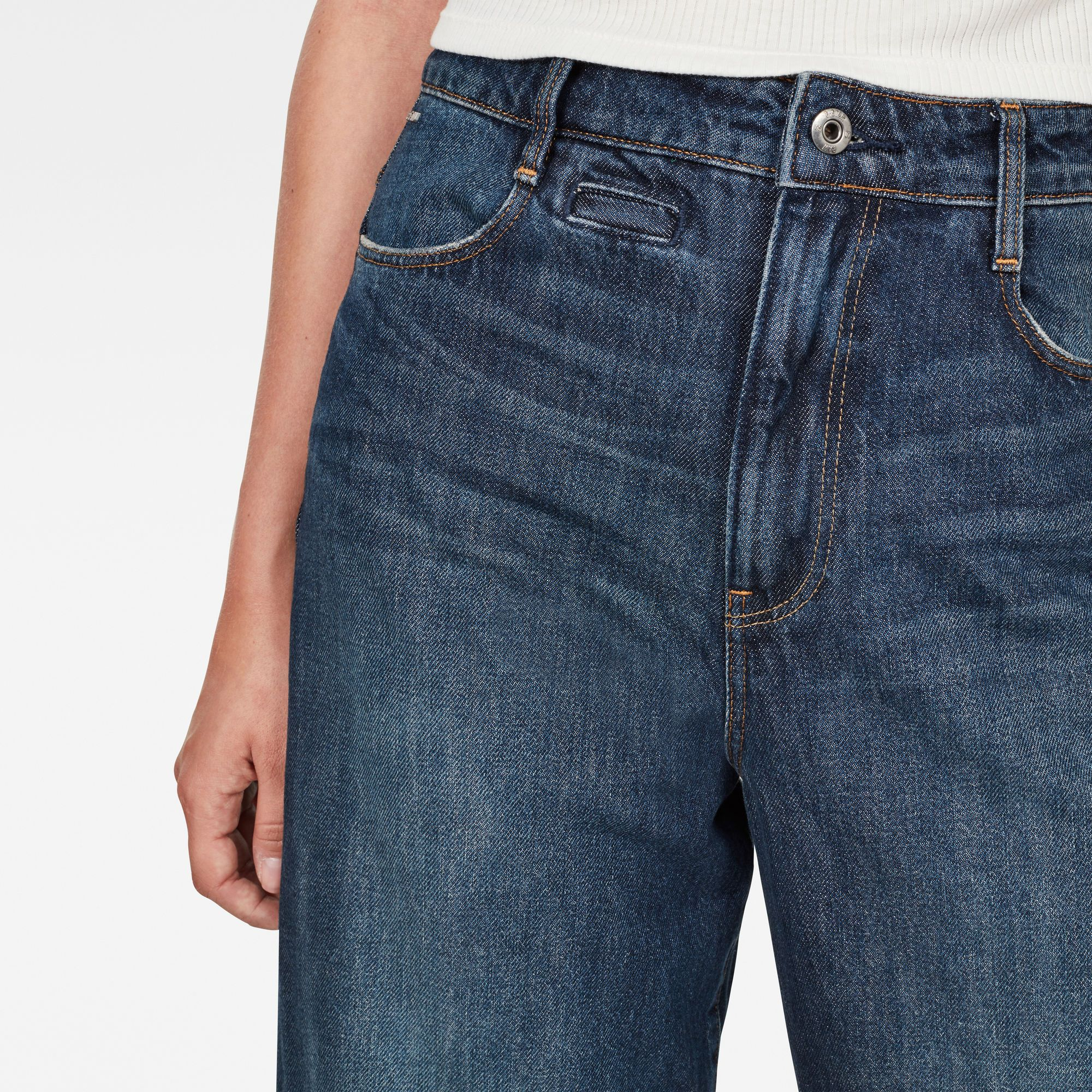 G-Star RAW D-Staq 5-Pocket High Waist Jeans