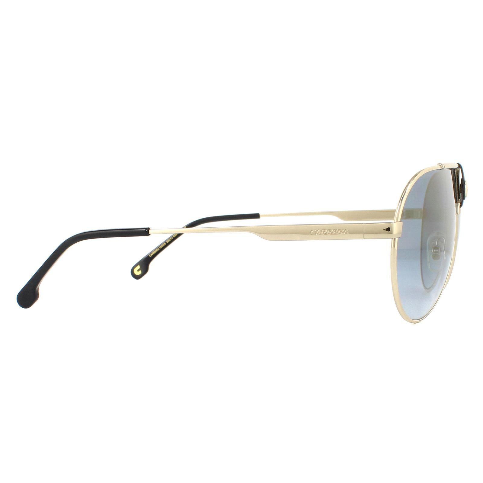 Carrera Sunglasses 1033/S 2M2 1V Black Gold Blue Gold Gradient Mirror