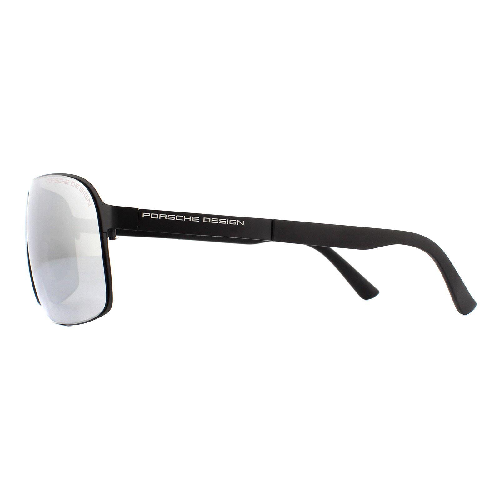 Porsche Design Sunglasses P8579 D Dark Ruthenium Grey