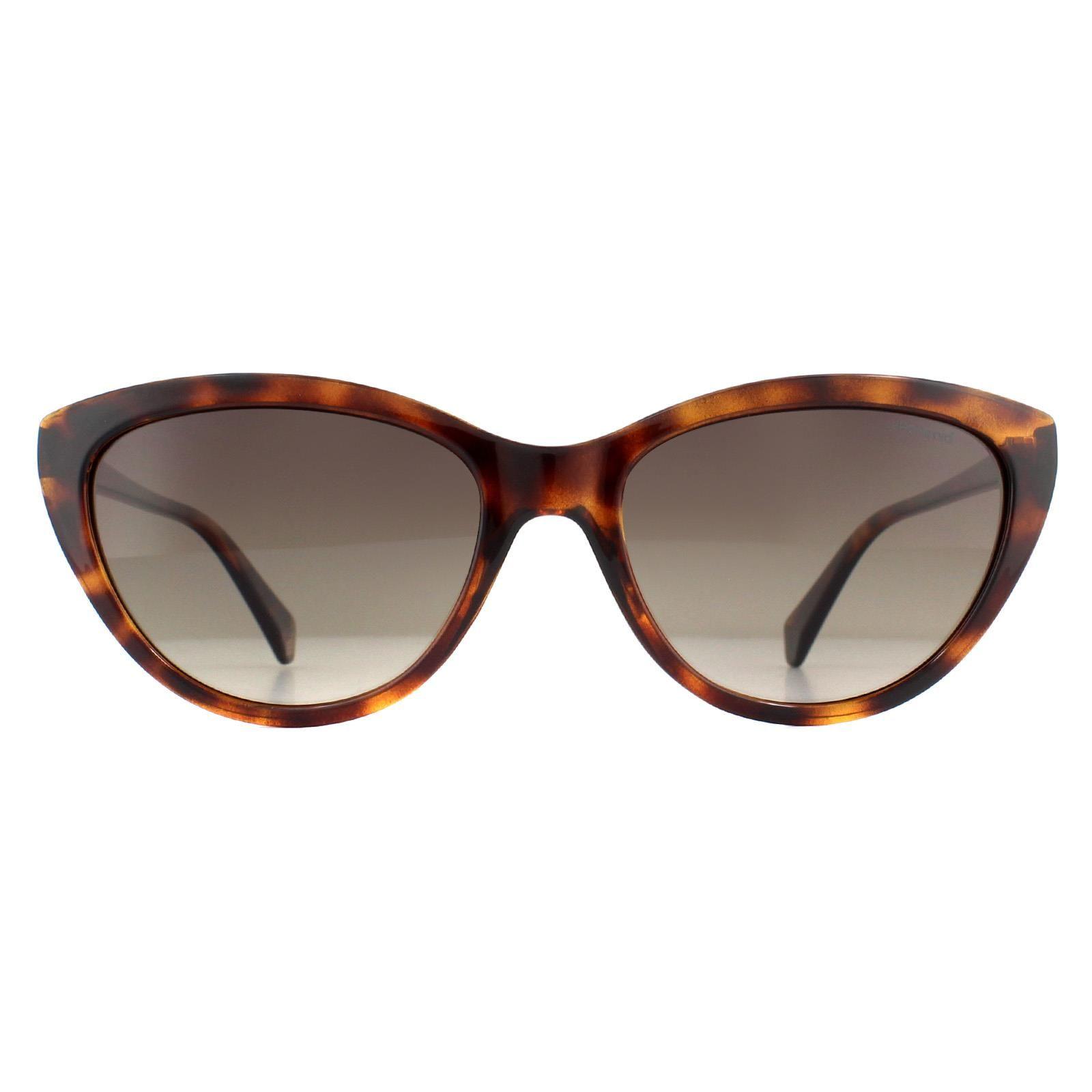 Polaroid Sunglasses PLD 4080/S 086 LA Havana Brown Gradient Polarized