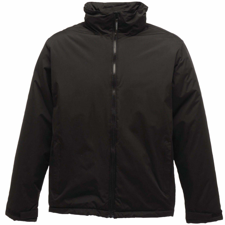 Regatta Mens Classic Waterproof Shell Jacket (Black)