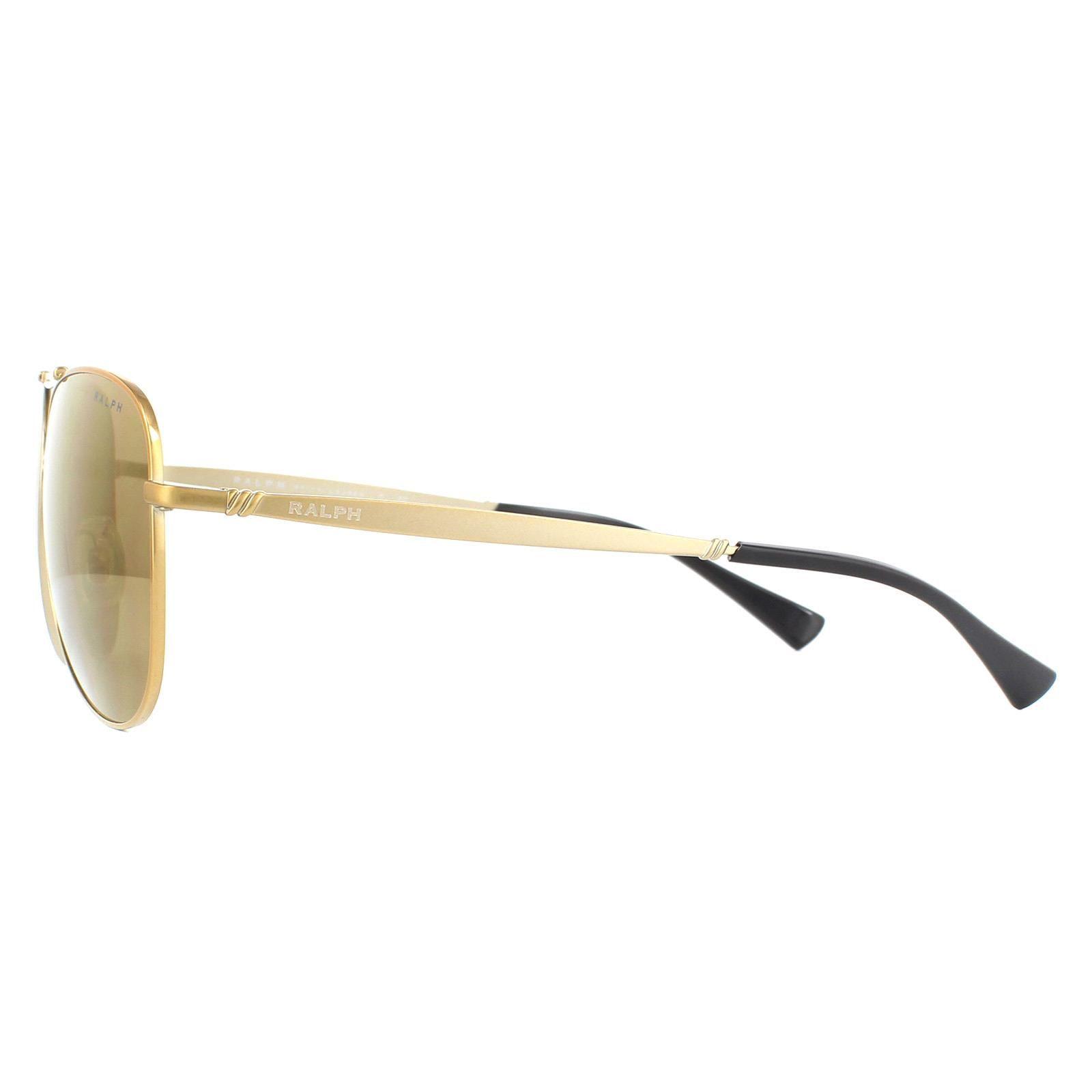 Ralph by Ralph Lauren Sunglasses RA4125 93577D Light Bronze Bronze Mirror