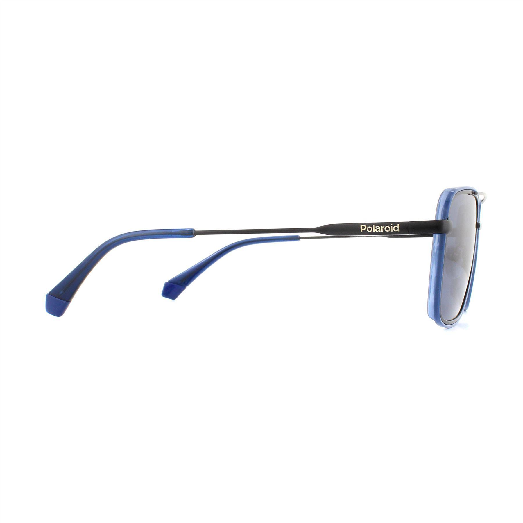Polaroid Sunglasses 6115/S PJP C3 Blue Grey Polarized