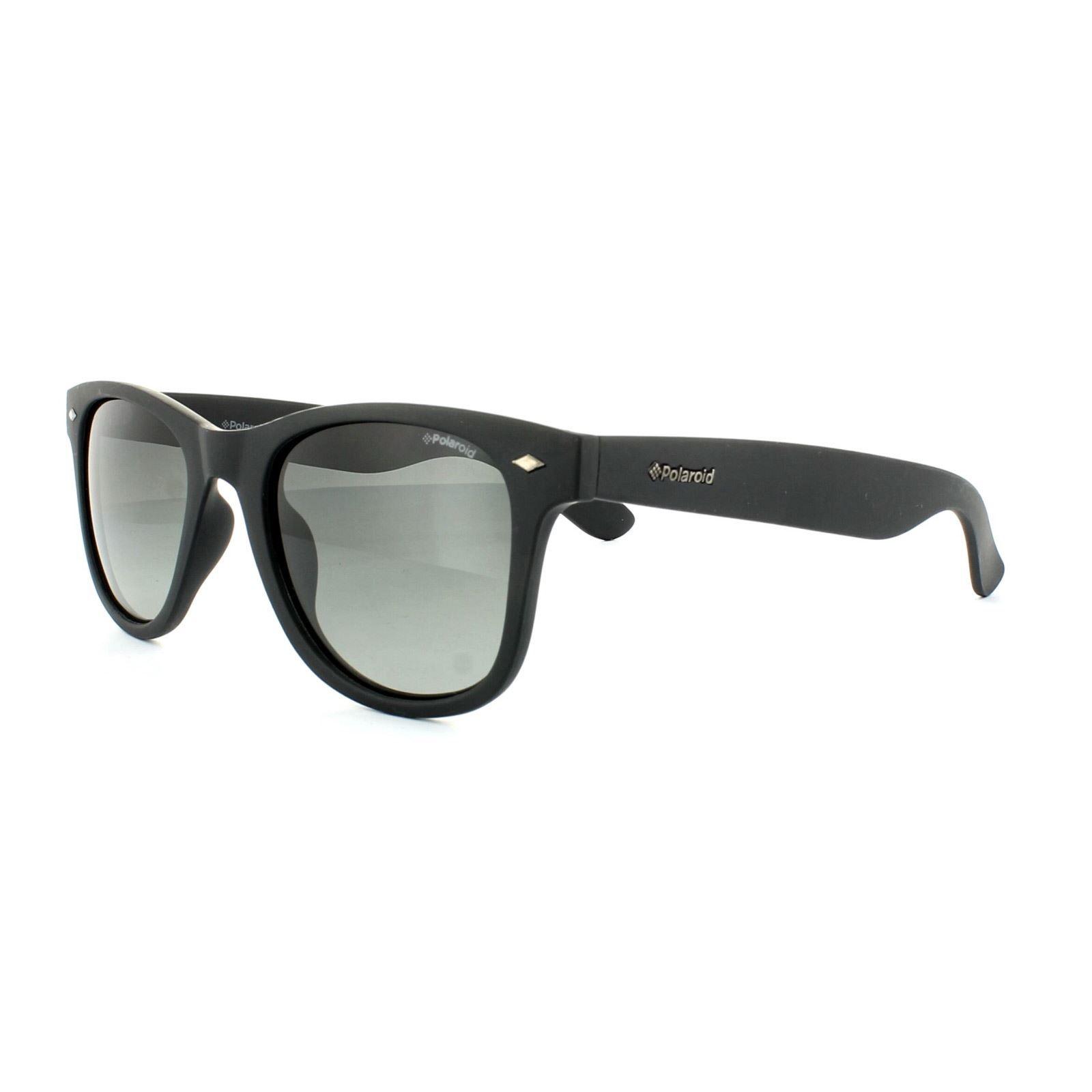Polaroid Sunglasses PLD 1016/S DL5 LB Matt Black Green Gradient Polarized