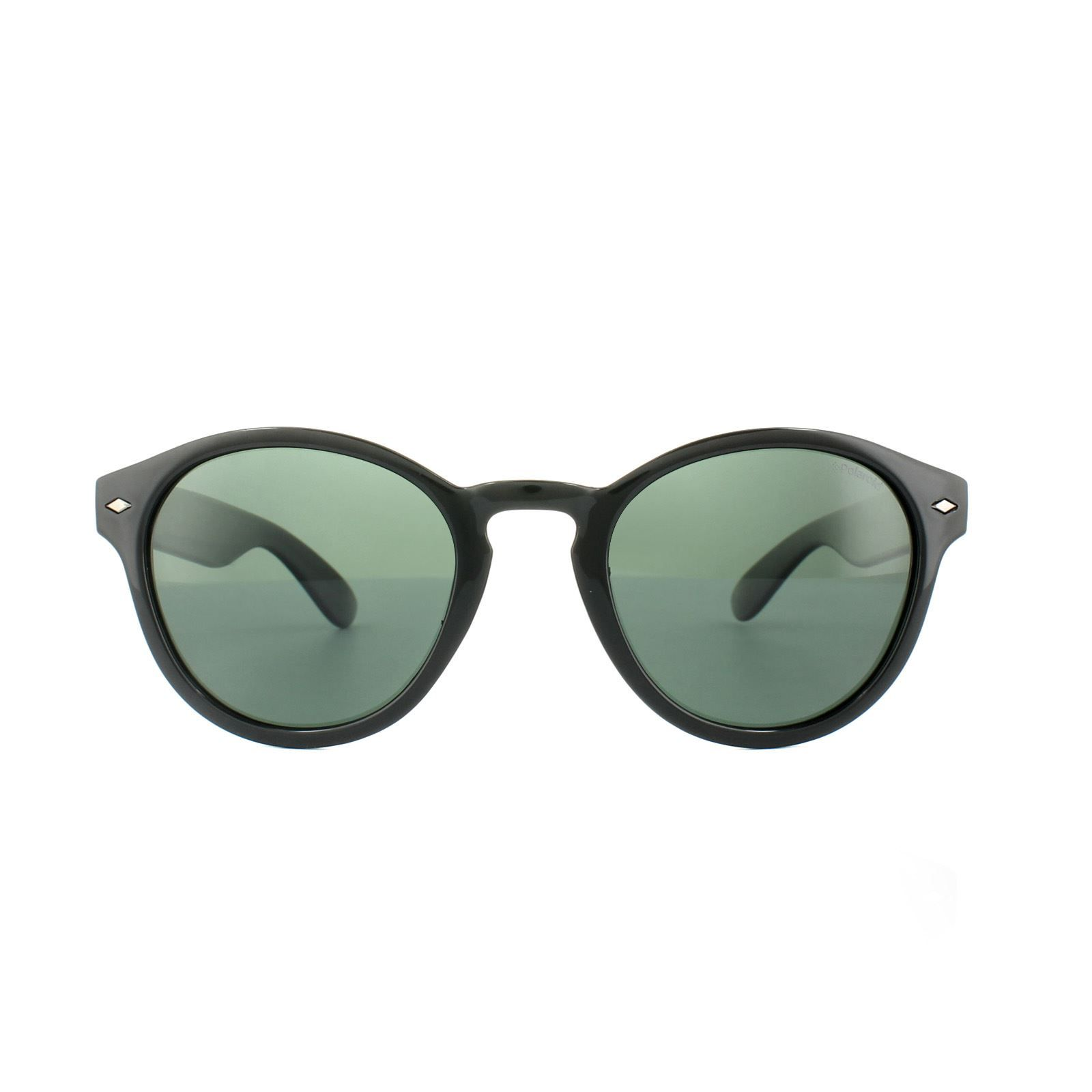 Polaroid Sunglasses PLD 1018/S D28 H8 Shiny Black Green Polarized