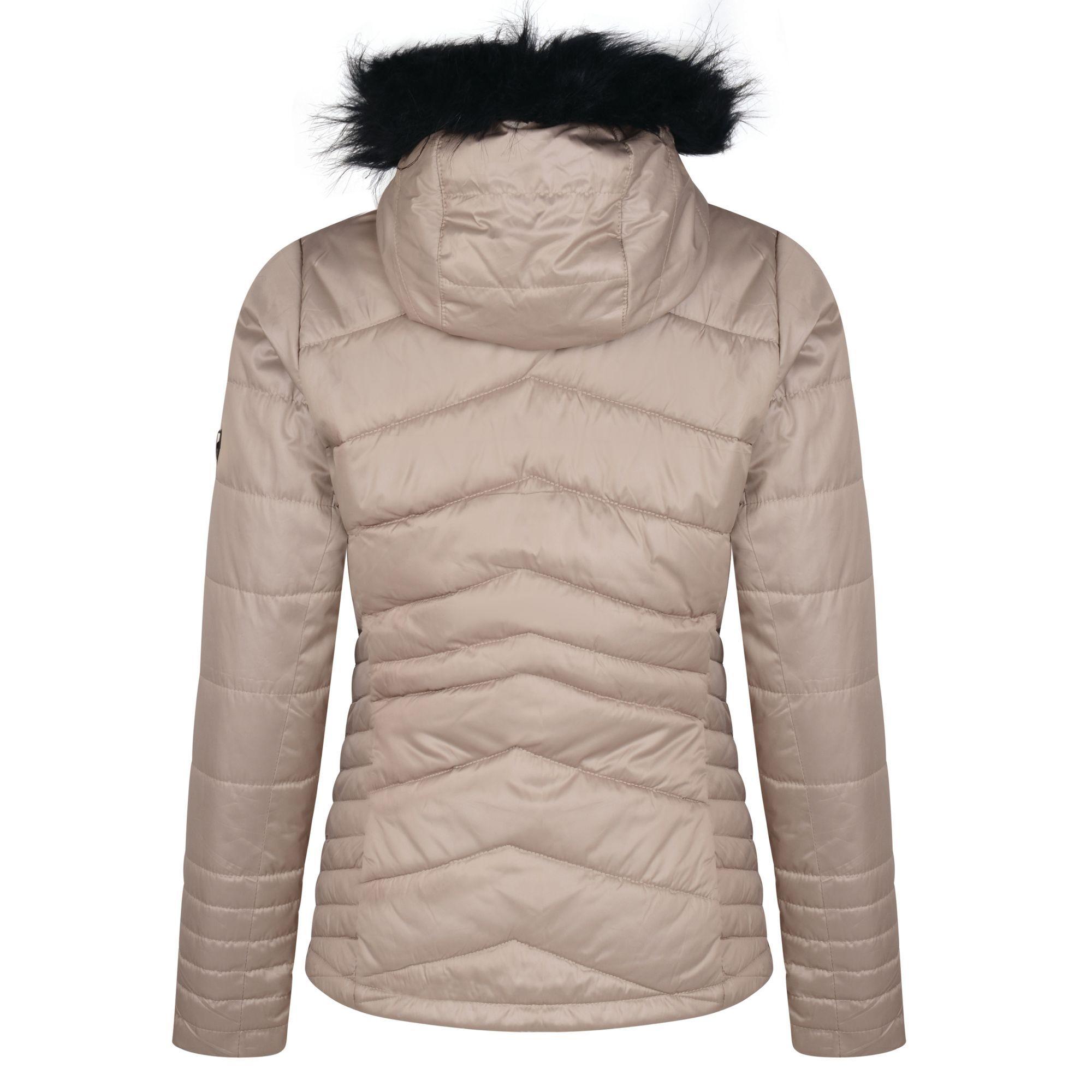 Dare 2b Womens/Ladies Comprise Luxe Ski Jacket (Macchiato)