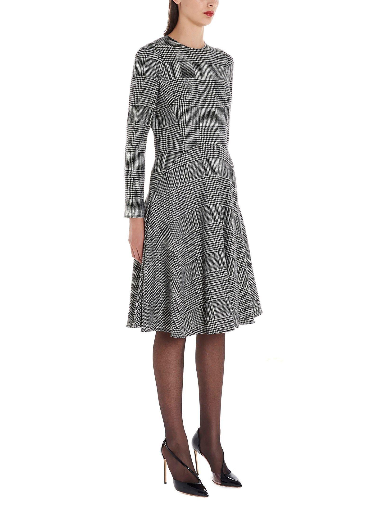 ERMANNO SCERVINO WOMEN'S D352Q746UKCG3500 GREY WOOL DRESS
