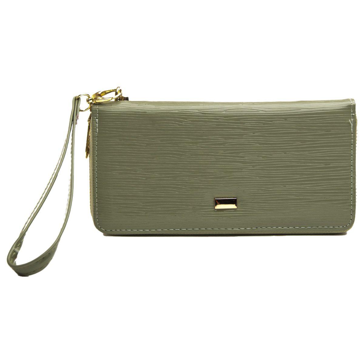 Montevita Leather Purse in Green
