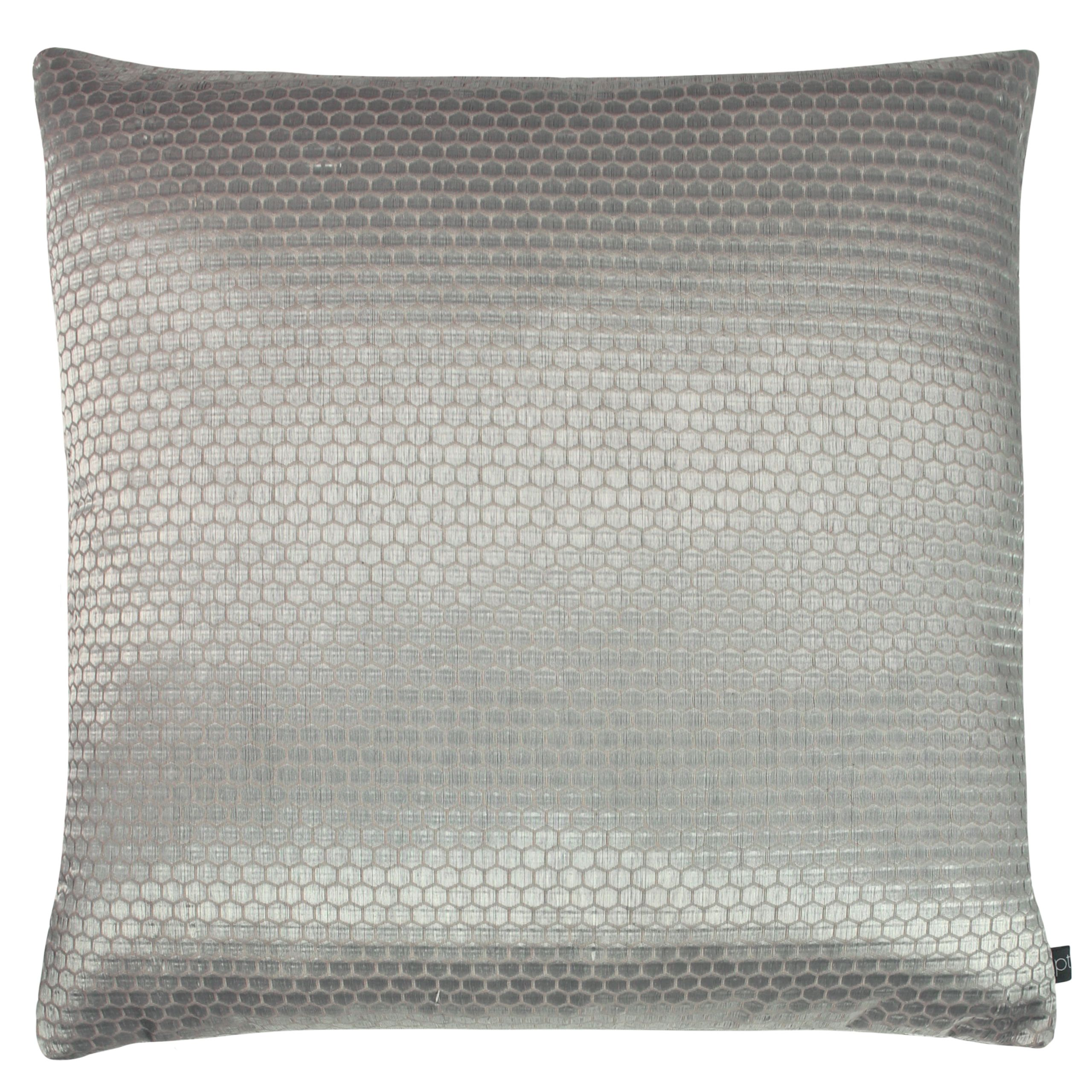 Prestigious Textiles Emboss Polyester Filled Cushion, Polyester, Cotton, Shell