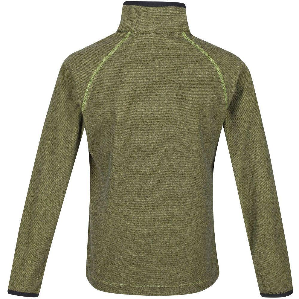 Regatta Boys & Girls Loco Zip Neck Stretch Fit Micro Fleece Jacket Top