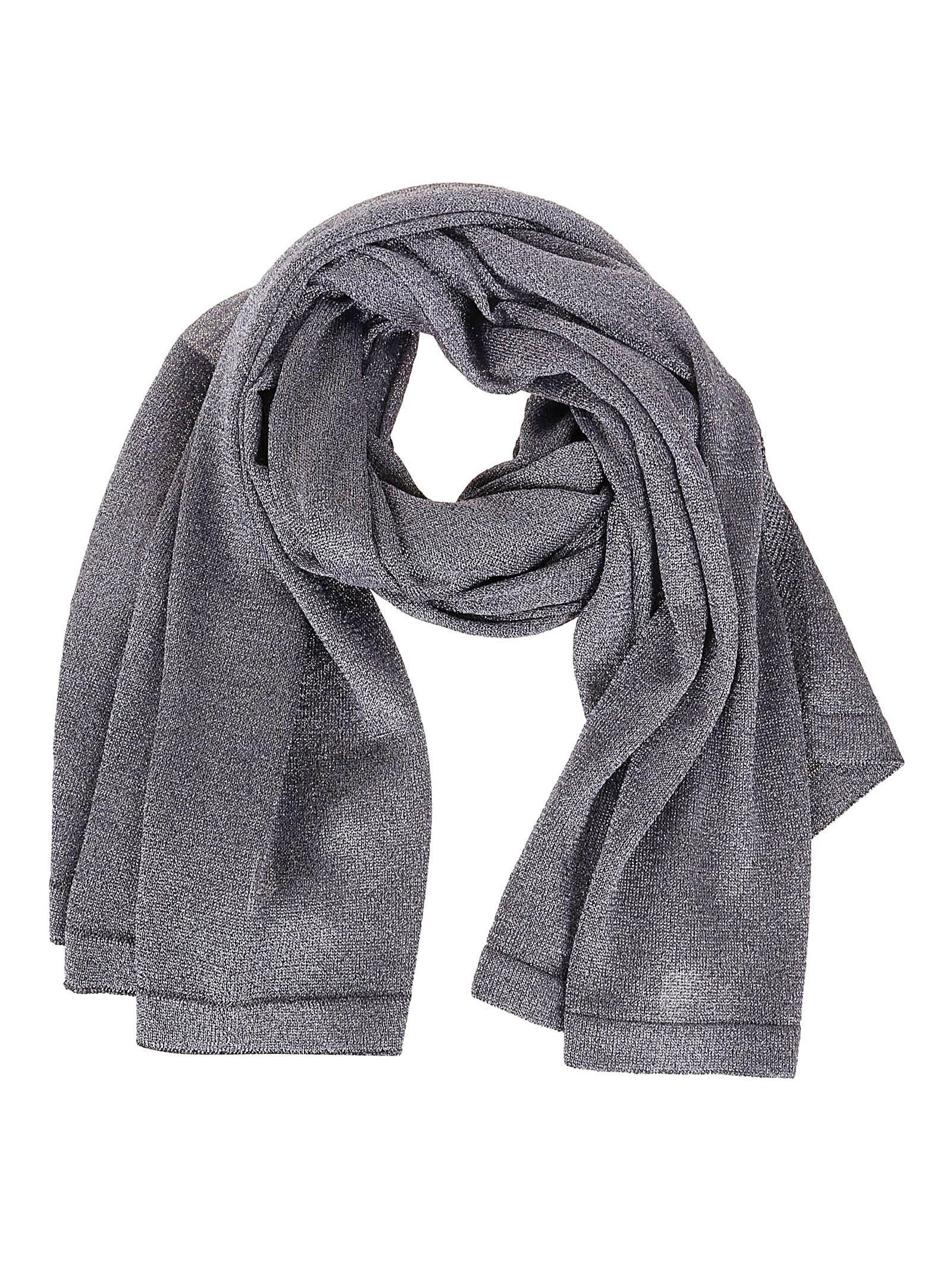 MISSONI WOMEN'S MDS00037BK0281L900G GREY VISCOSE SCARF