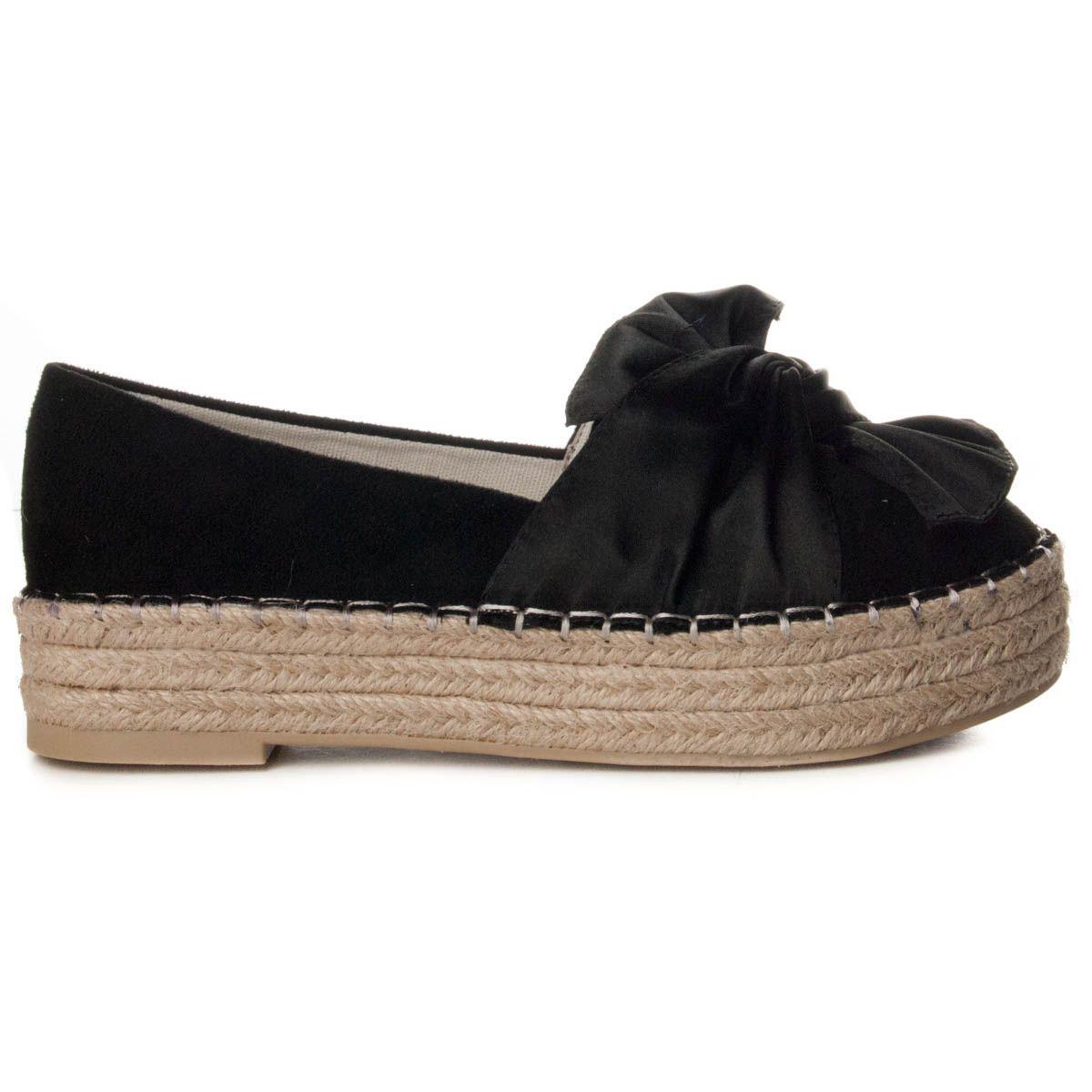Montevita Canvas Shoe  in Black