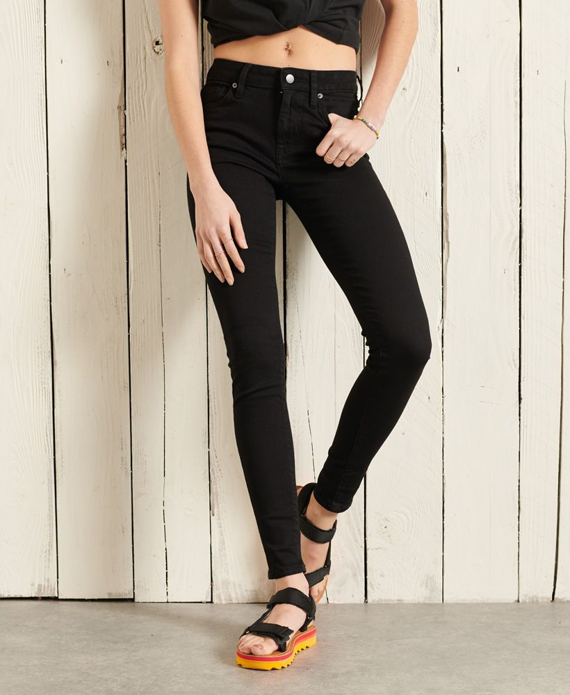 Superdry Mid Rise Skinny Jeans