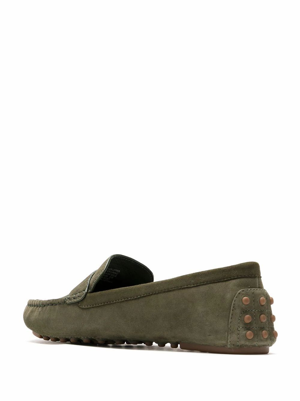 TORY BURCH WOMEN'S 57297306 GREEN SUEDE LOAFERS