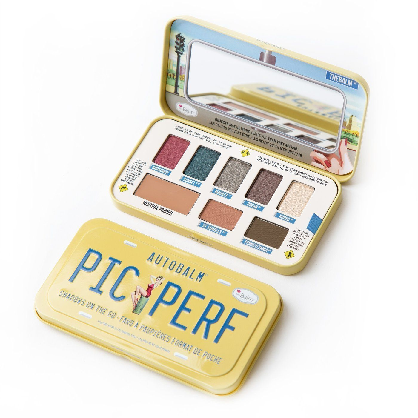 theBalm Autobalm Picture Perfect Eye Shadow Palette