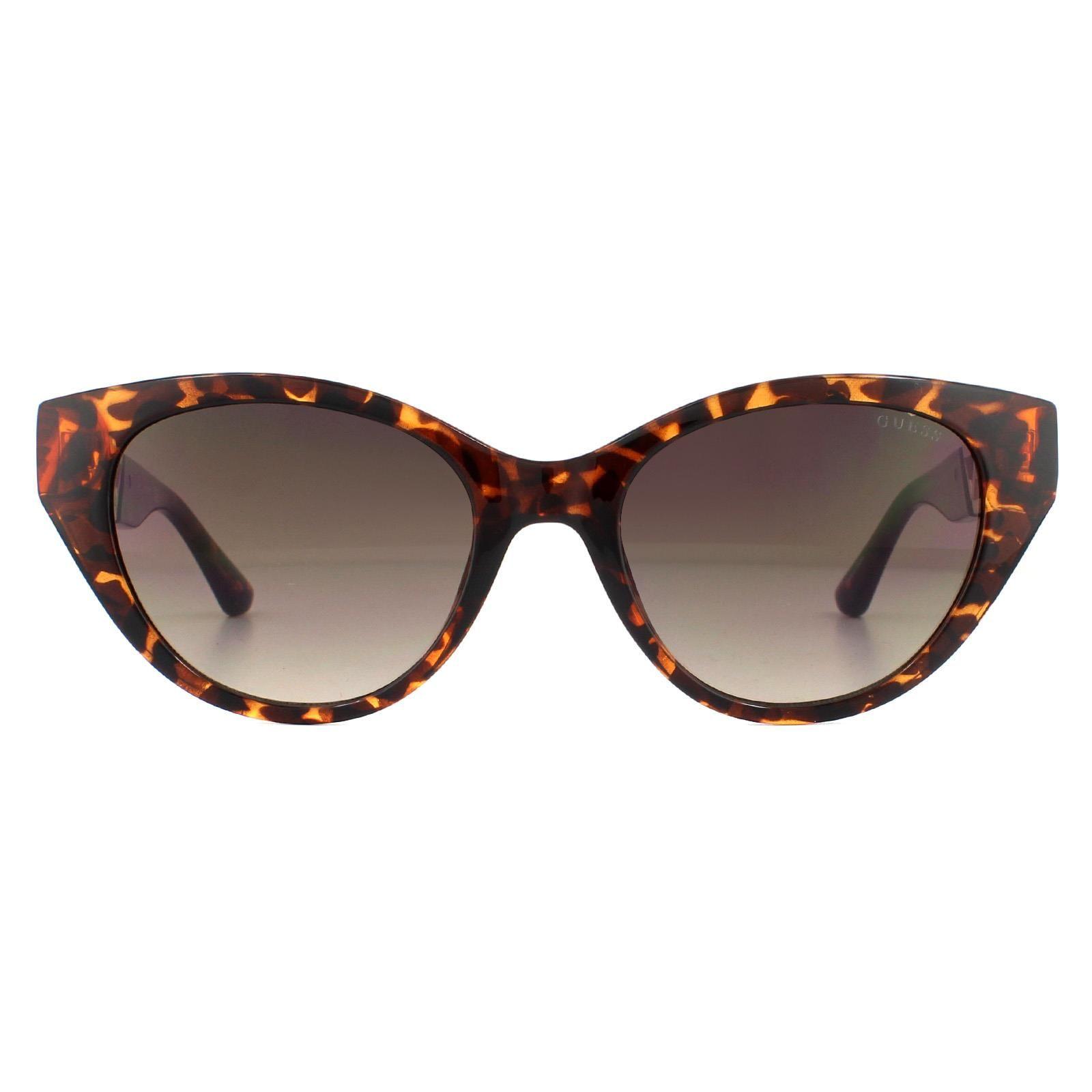 Guess Sunglasses GU7690 52F Dark Havana Brown Gradient