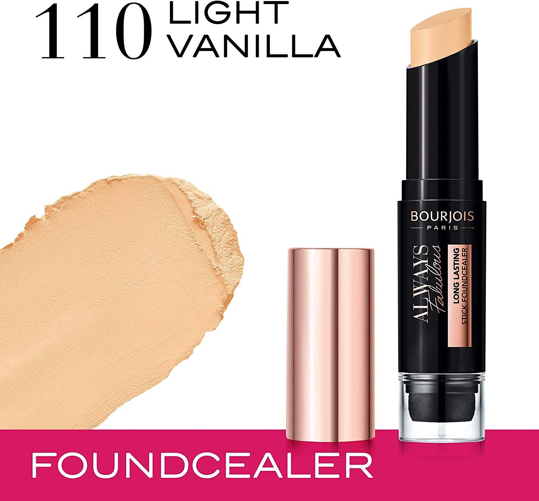 Bourjois Always Fabulous Long Lasting Stick Foundcealer - 110 Light Vanilla