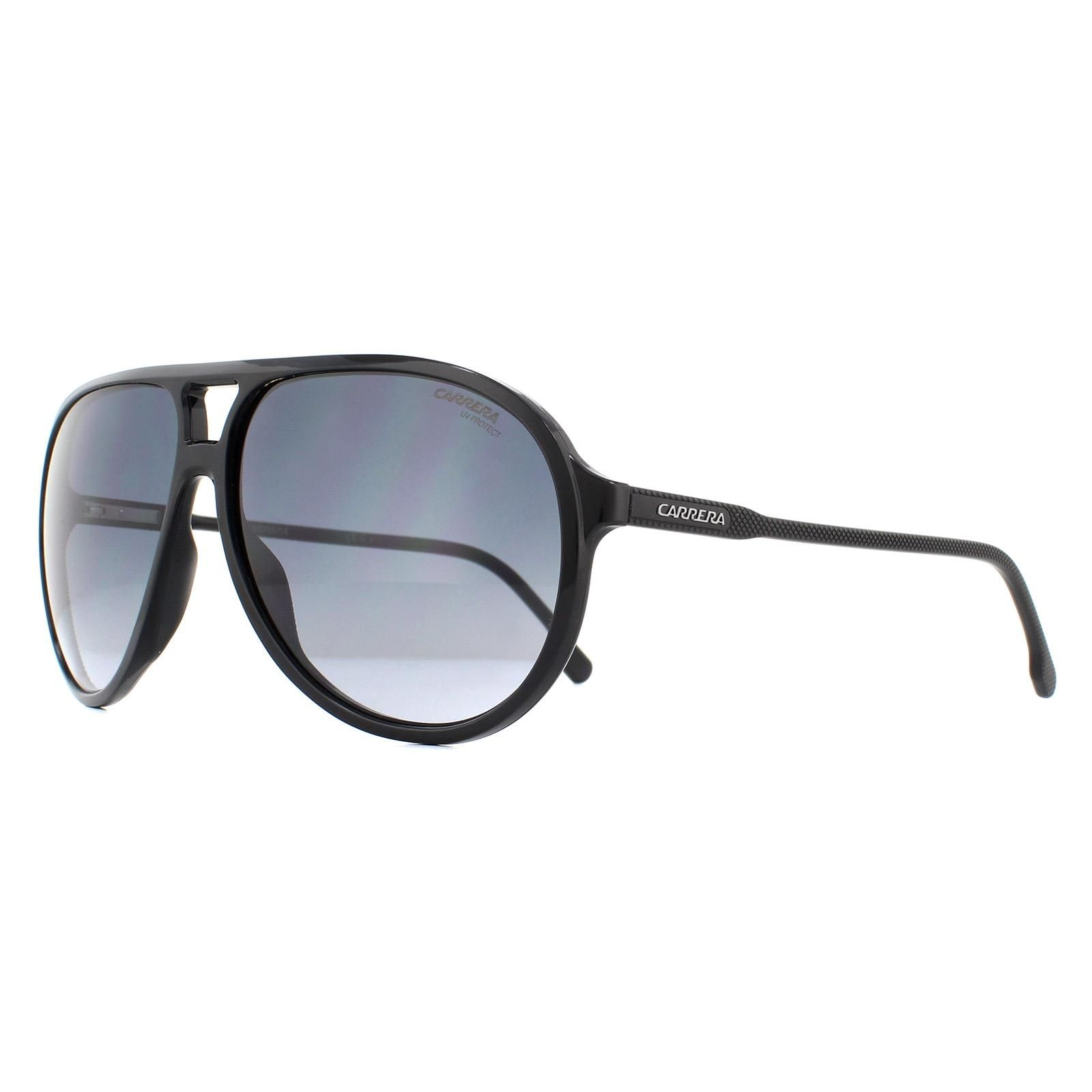 Carrera Sunglasses 237/S 807 9O Black Dark Grey