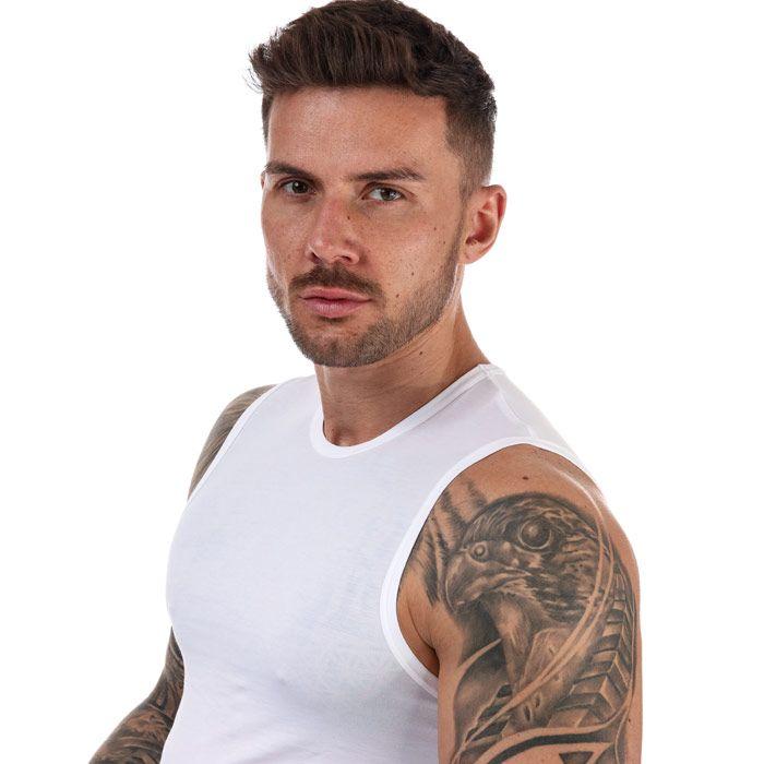Men's Calvin Klein Beach Tank Top In White