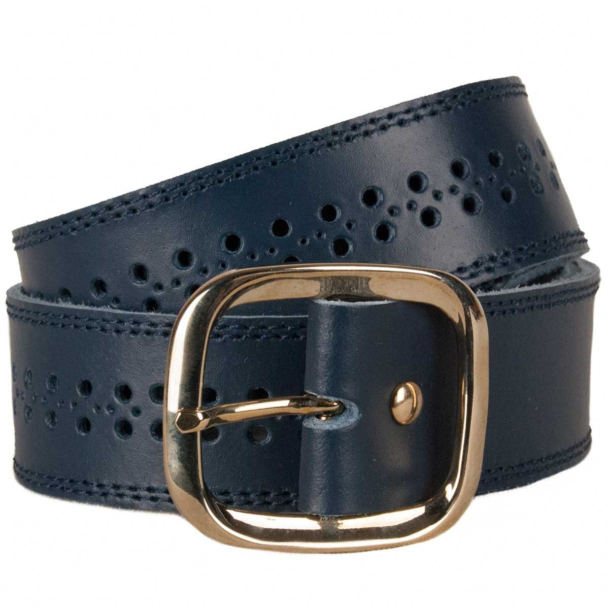Montevita Casual Quality Belt in Blue