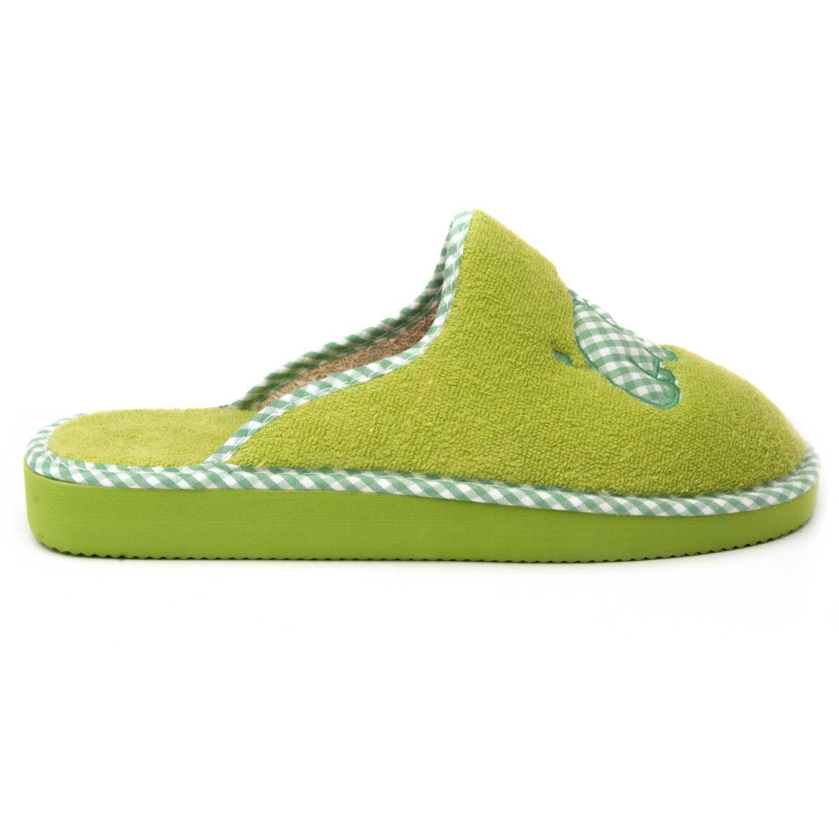 Northome Comfortable Slipper in Green