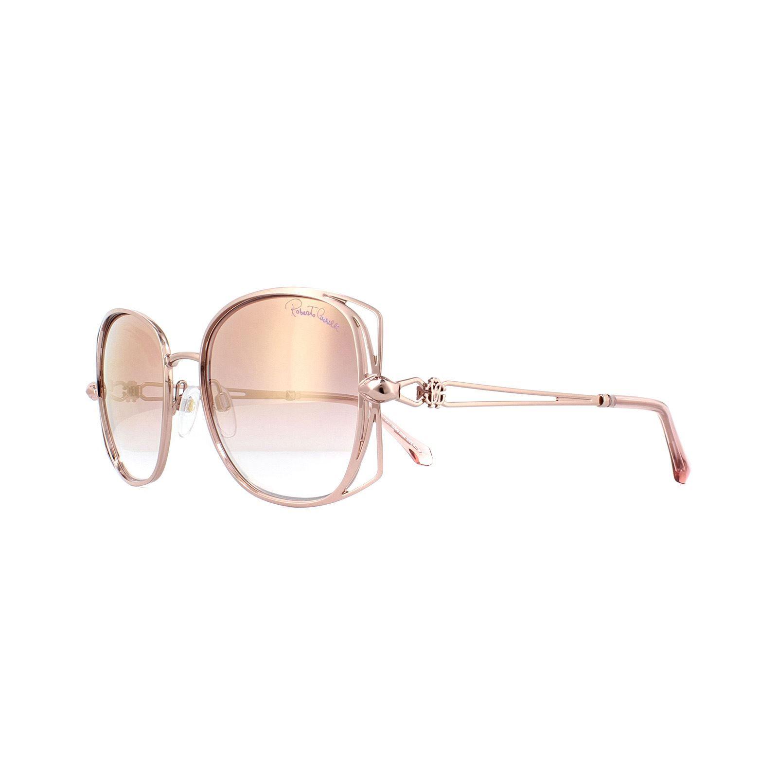 Roberto Cavalli Sunglasses Casentino RC1031 34U Bronze Bordeaux Mirror