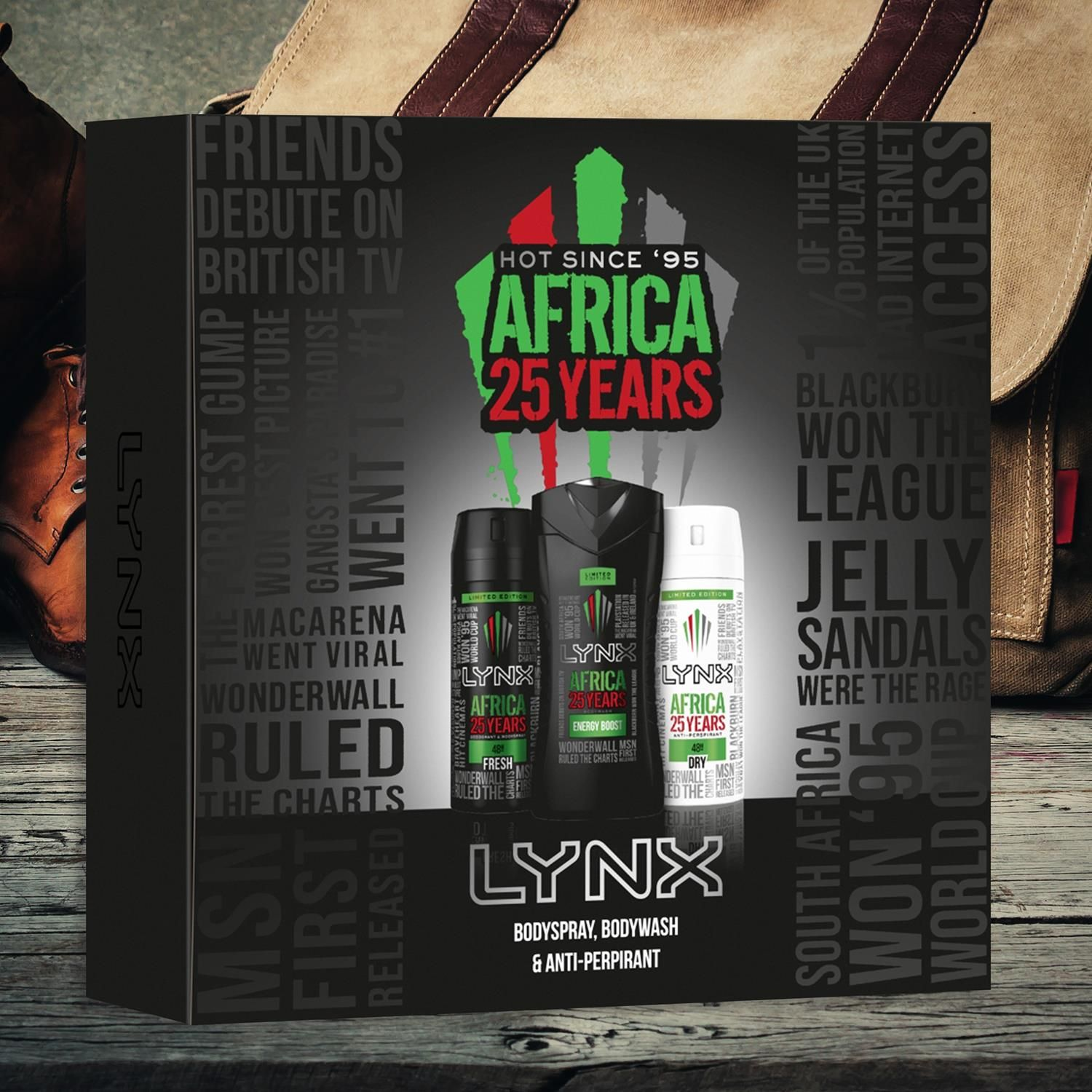 Lynx Africa 25 Years Trio Gift Set