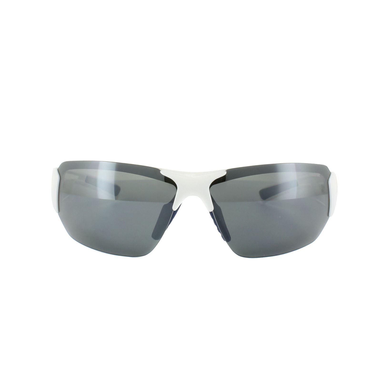 Polaroid Sport Sunglasses P7422 22J Y2 White & Blue Grey Polarized